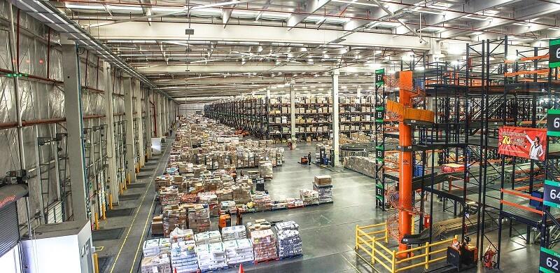 El control de accesos en un centro logístico
